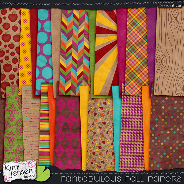 Fantabulous Fall Papers