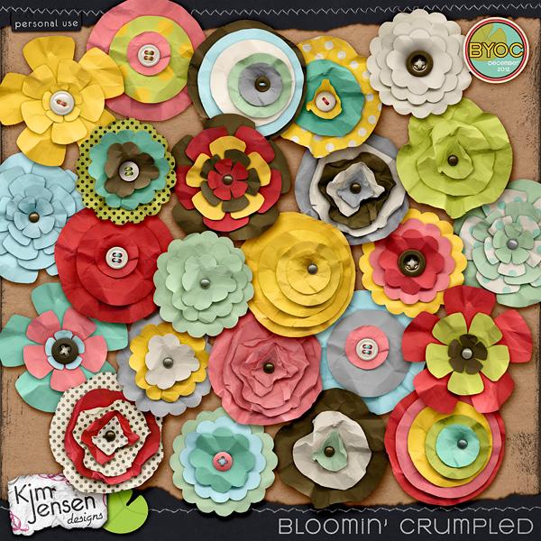 Bloomin' Crumpled
