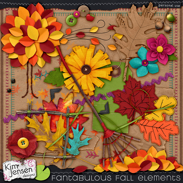 Fantabulous Fall Elements