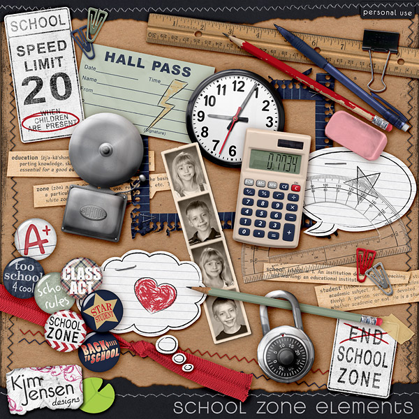 School Zone Elements
