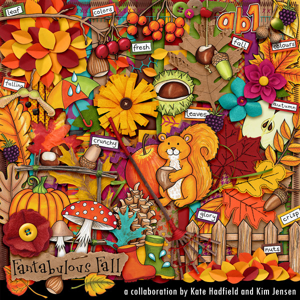 Fantabulous Fall Collab with Kate Hadfield