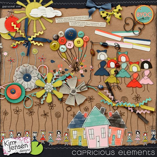 Capricious Elements