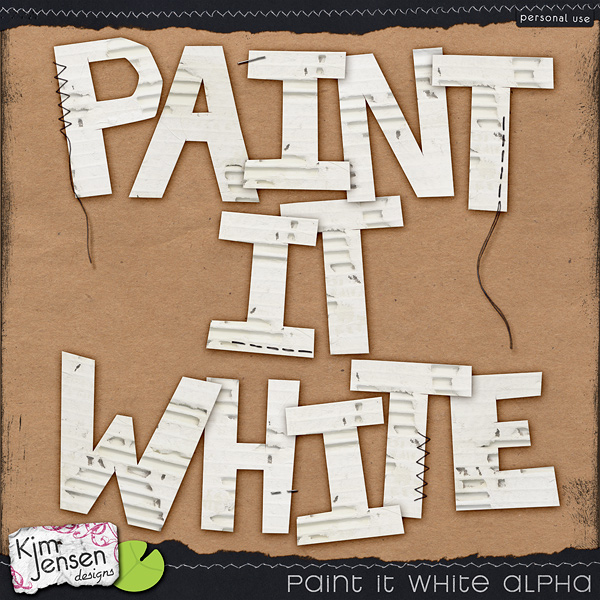 Paint It White Alpha