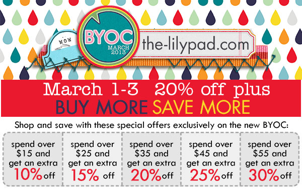 March BYOC deals